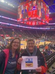 Steven attended Detroit Pistons vs. Charlotte Hornets - NBA on Nov 29th 2019 via VetTix