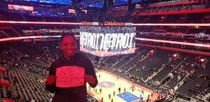 Gary attended Detroit Pistons vs. Charlotte Hornets - NBA on Nov 29th 2019 via VetTix