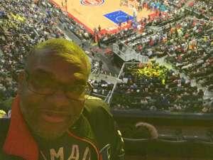 Kelvin attended Detroit Pistons vs. Charlotte Hornets - NBA on Nov 29th 2019 via VetTix