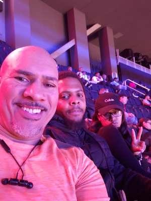 Daniel attended Detroit Pistons vs. Charlotte Hornets - NBA on Nov 29th 2019 via VetTix