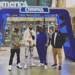 Ollie attended Detroit Pistons vs. Charlotte Hornets - NBA on Nov 29th 2019 via VetTix