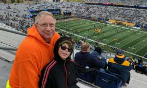 Charles attended West Virginia Mountaineers vs. Oklahoma State - NCAA Football on Nov 23rd 2019 via VetTix