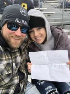 Erik attended West Virginia Mountaineers vs. Oklahoma State - NCAA Football on Nov 23rd 2019 via VetTix