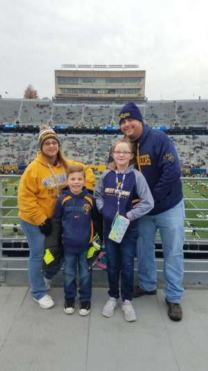 Michael attended West Virginia Mountaineers vs. Oklahoma State - NCAA Football on Nov 23rd 2019 via VetTix