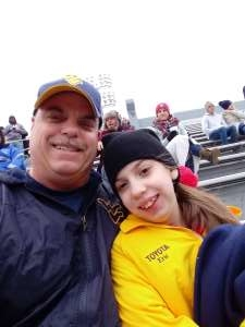 Eric attended West Virginia Mountaineers vs. Oklahoma State - NCAA Football on Nov 23rd 2019 via VetTix