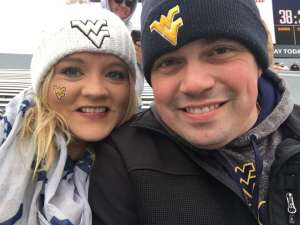 Matthew attended West Virginia Mountaineers vs. Oklahoma State - NCAA Football on Nov 23rd 2019 via VetTix