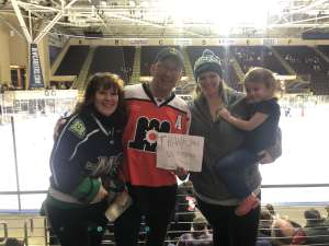 Harold attended Maine Mariners vs. Adirondack Thunder - ECHL on Jan 11th 2020 via VetTix