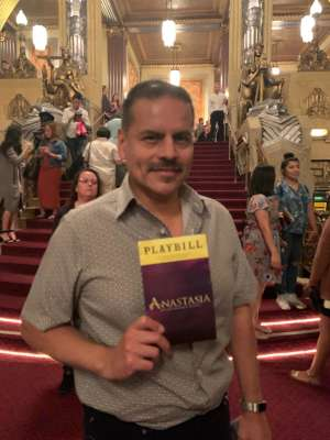 Robert attended Anastasia - Hollywood Pantages Theatre on Oct 8th 2019 via VetTix