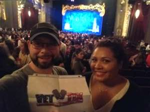 Michael attended Anastasia - Hollywood Pantages Theatre on Oct 8th 2019 via VetTix