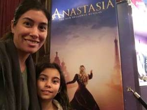 Salina attended Anastasia - Hollywood Pantages Theatre on Oct 8th 2019 via VetTix