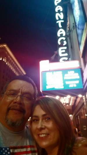 Richard attended Anastasia - Hollywood Pantages Theatre on Oct 8th 2019 via VetTix