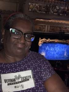 Denise attended Anastasia - Hollywood Pantages Theatre on Oct 8th 2019 via VetTix
