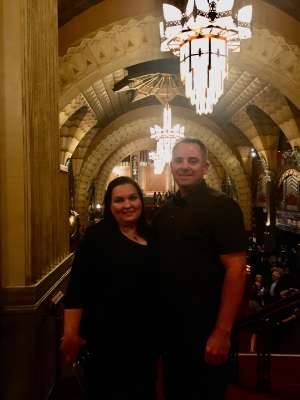 The Mleynek Family attended Anastasia - Hollywood Pantages Theatre on Oct 8th 2019 via VetTix