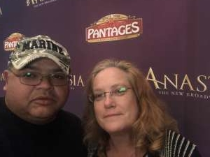 Martin attended Anastasia - Hollywood Pantages Theatre on Oct 8th 2019 via VetTix