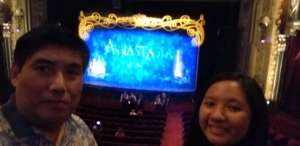 Mitchell attended Anastasia - Hollywood Pantages Theatre on Oct 8th 2019 via VetTix