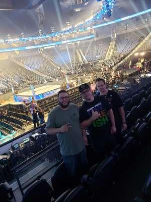 Jesse attended WWE SmackDown on Oct 11th 2019 via VetTix