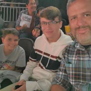 Jacob attended WWE SmackDown on Oct 11th 2019 via VetTix