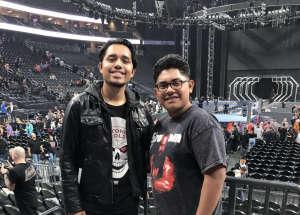 Joshua attended WWE SmackDown on Oct 11th 2019 via VetTix