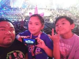 Jeff attended WWE SmackDown on Oct 11th 2019 via VetTix