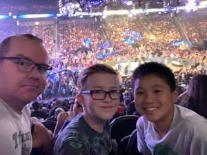James attended WWE SmackDown on Oct 11th 2019 via VetTix