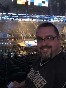 Andrew attended WWE SmackDown on Oct 11th 2019 via VetTix