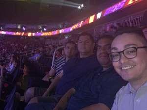 JM attended WWE SmackDown on Oct 11th 2019 via VetTix