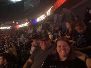 Anna attended WWE SmackDown on Oct 11th 2019 via VetTix