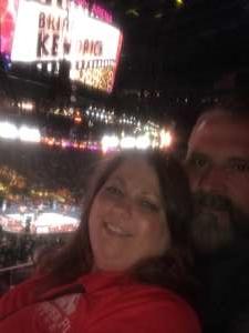 Joseph attended WWE SmackDown on Oct 11th 2019 via VetTix