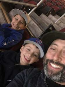 Steven attended Arizona Coyotes vs. Montreal Canadiens - NHL on Oct 30th 2019 via VetTix