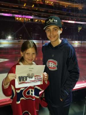 Click To Read More Feedback from Arizona Coyotes vs. Montreal Canadiens - NHL
