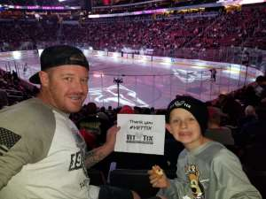 Anthony attended Arizona Coyotes vs. Montreal Canadiens - NHL on Oct 30th 2019 via VetTix