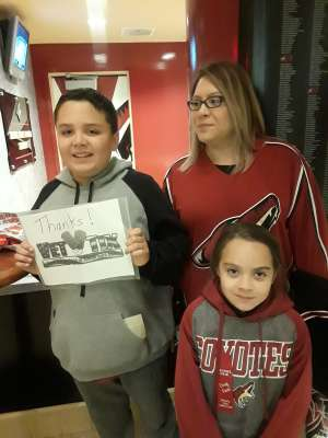 Sergio attended Arizona Coyotes vs. Montreal Canadiens - NHL on Oct 30th 2019 via VetTix