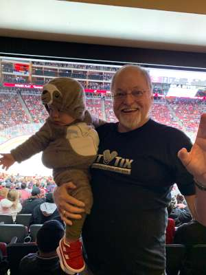 Robert attended Arizona Coyotes vs. Montreal Canadiens - NHL on Oct 30th 2019 via VetTix