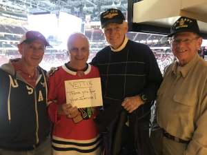 Ron attended Arizona Coyotes vs. Montreal Canadiens - NHL on Oct 30th 2019 via VetTix