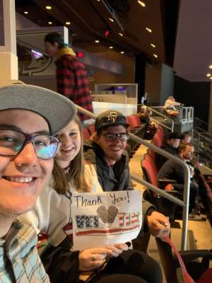 Leilani attended Arizona Coyotes vs. Montreal Canadiens - NHL on Oct 30th 2019 via VetTix