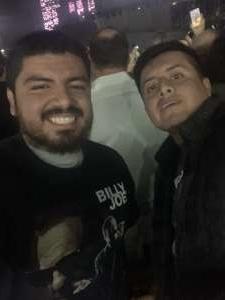 Alejandro attended Billy Joel - Please Read Details Below on Oct 12th 2019 via VetTix