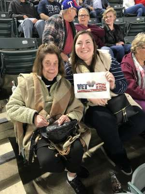 Frances attended Billy Joel - Please Read Details Below on Oct 12th 2019 via VetTix