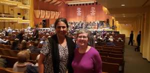 Marina attended Susanna Malkki Conducts Haydn - Strauss and Unsuk Chin - Presented by the Presented by the New York Philharmonic on Oct 22nd 2019 via VetTix