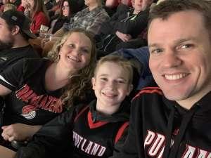 Brandon attended Portland Trail Blazers vs. Oklahoma City Thunder - NBA on Nov 27th 2019 via VetTix