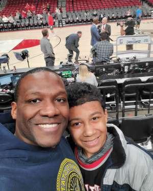 James attended Portland Trail Blazers vs. Oklahoma City Thunder - NBA on Nov 27th 2019 via VetTix