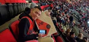 Alex attended Portland Trail Blazers vs. Oklahoma City Thunder - NBA on Nov 27th 2019 via VetTix