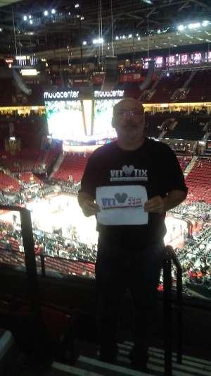 Richard attended Portland Trail Blazers vs. Oklahoma City Thunder - NBA on Nov 27th 2019 via VetTix