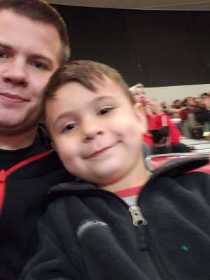 Jordan attended Portland Trail Blazers vs. Oklahoma City Thunder - NBA on Nov 27th 2019 via VetTix