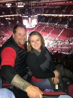 Trevor attended Portland Trail Blazers vs. Oklahoma City Thunder - NBA on Nov 27th 2019 via VetTix