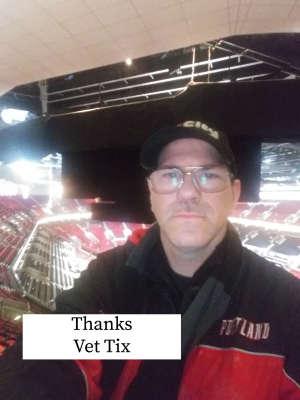 Lyle attended Portland Trail Blazers vs. Oklahoma City Thunder - NBA on Nov 27th 2019 via VetTix