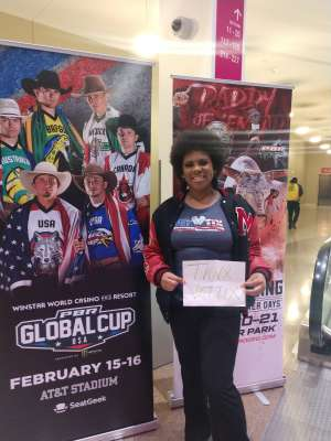Shimira attended PBR Xxvi World Finals 2019 - Las Vegas - Wednesday Nov. 6 Only on Nov 6th 2019 via VetTix