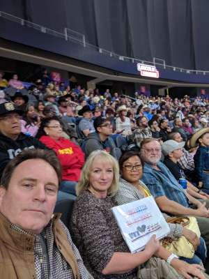 Gary & Gaby attended PBR Xxvi World Finals 2019 - Las Vegas - Wednesday Nov. 6 Only on Nov 6th 2019 via VetTix