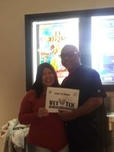 larry attended Taj Express: The Bollywood Musical Revue on Oct 18th 2019 via VetTix