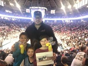 John attended Georgia Tech Yellow Jackets vs. University of Arkansas Razorbacks- NCAA Men's Basketball on Nov 25th 2019 via VetTix