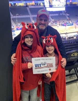 Gordon attended Georgia Tech Yellow Jackets vs. University of Arkansas Razorbacks- NCAA Men's Basketball on Nov 25th 2019 via VetTix